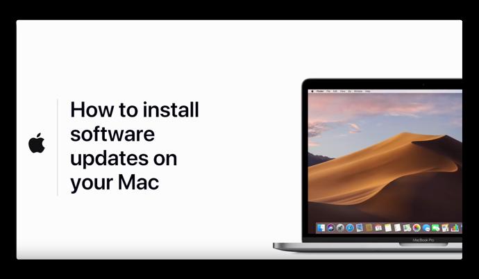 Apple Support、「macOS Mojaveでソフトウェア・アップデートをインストールする方法」のハウツービデオを公開
