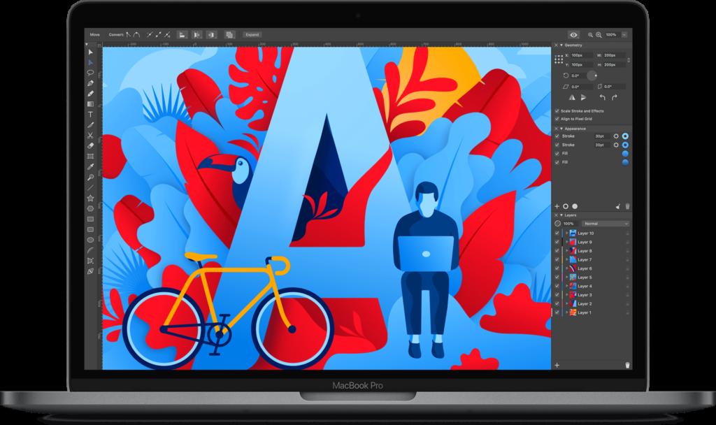 BeLight Software、Macの新しいベクターアプリ「Amadine」のベータ版を公開