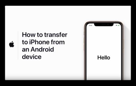Apple Support、「AndroidからiPhoneへの移行方法」のハウツービデオを公開
