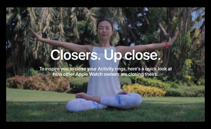Apple、Apple Watch専用の新しい「Close Your Rings」サイトを公開