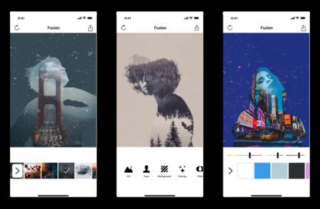 【iPhone】ポートレイト写真に二重露光での画像をブレンドする「Fuzion」がリリース