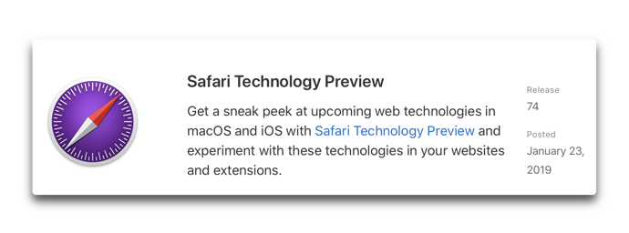 Safari Technology Preview74 00001
