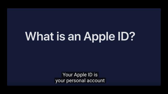 Apple Support、「Apple IDとは何か?」と題するハウツービデオを公開