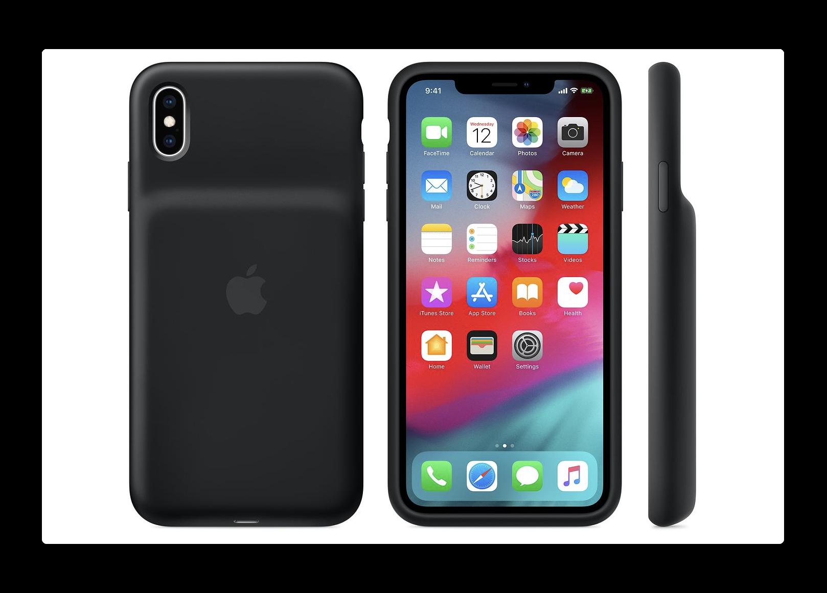 iPhone XS Smart Battery Case使用後、最大バッテリ容量が低下する問題が報告される