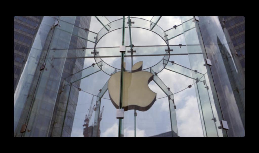 Apple、株価時価総額で再び世界のトップに戻る