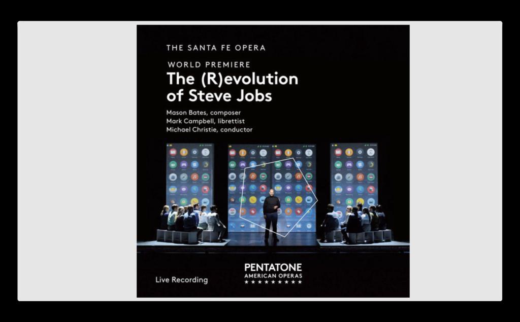 「Bates: The (R)evolution of Steve Jobs」がグラミー賞の最優秀オペラ・レコーディング賞に輝く