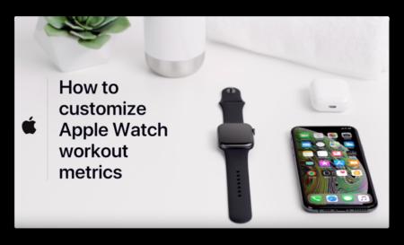 Apple Support、「Apple Watchのワークアウトメトリックをカスタマイズする方法」のビデオを公開