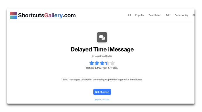 Delayed Time iMessage 00001