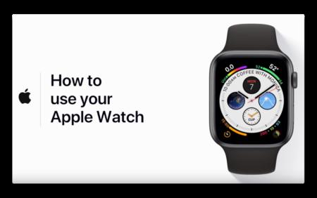 Apple Support、「Apple Watchの使い方」のハウツービデオを公開
