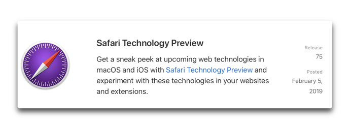 Safari Technology Preview75 00001