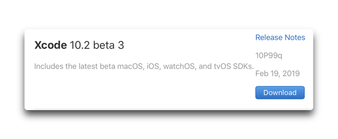 Xcode 10 2 beta 3 00001