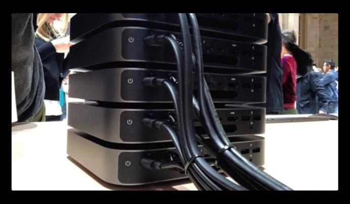 Appleの「モジュラー式」Mac Pro設計は、レゴブロックのように接続するユニットを意味する