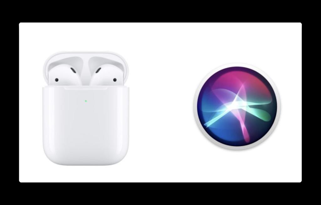 AirPods(第2世代)で「Hey Siri」コマンドを使用する方法