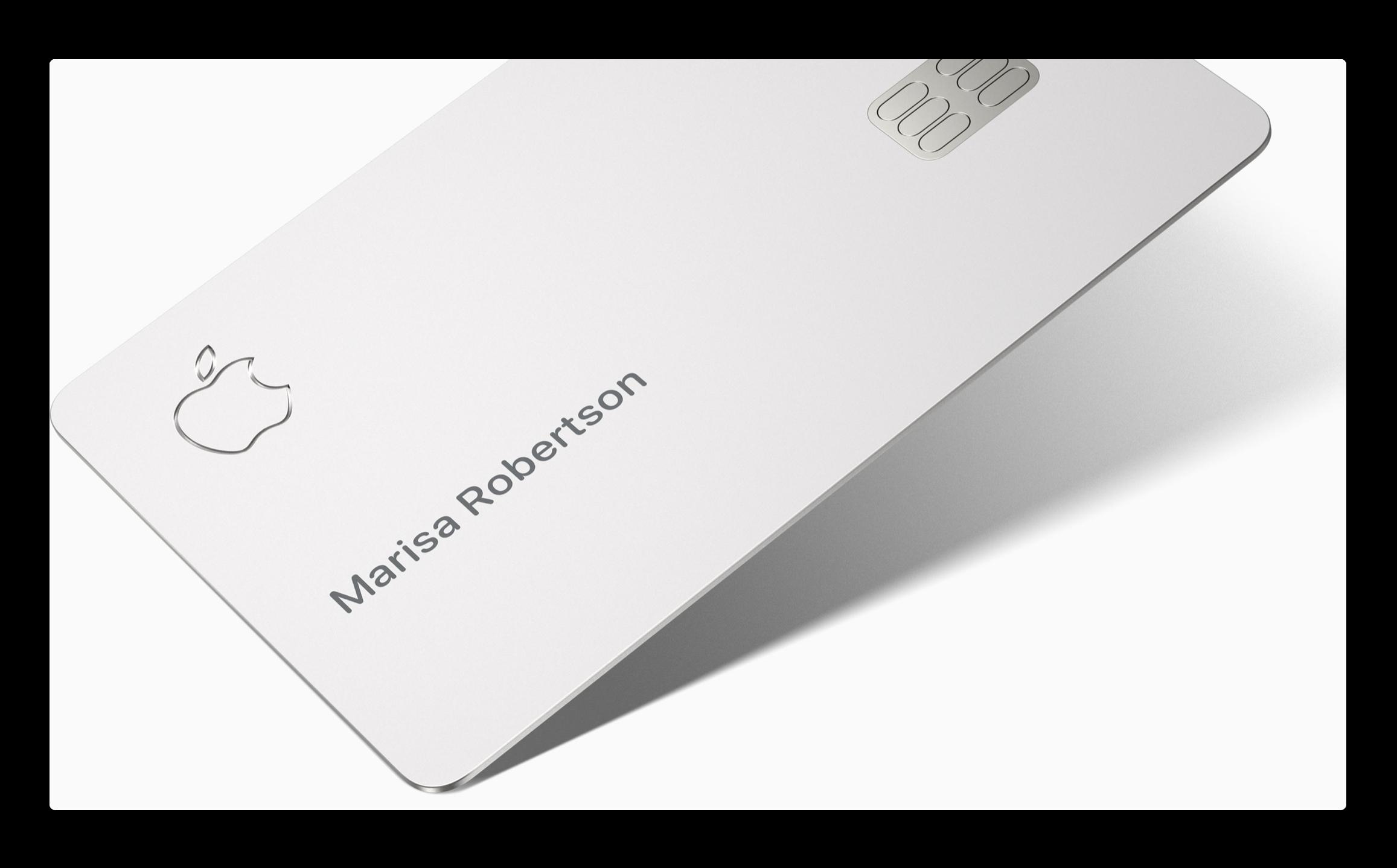 iPhoneユーザーはApple Cardを望んでいるとの調査結果