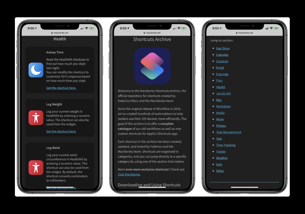 MacStories、150個のカスタムiOSショートカットの便利なコレクションを公開