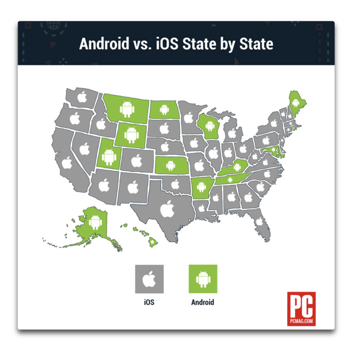 Mapping Android vs iOS 00001