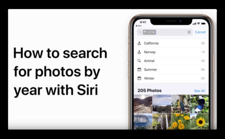 Apple Support、「Siriを使って写真を検索する方法」のハウツービデオを公開