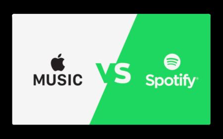Apple Music、米国において有料購読契約数でSpotifyを上回る
