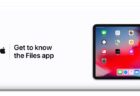 Apple Support、「iPadのファイルアプリを使う方法」のハウツービデオを公開
