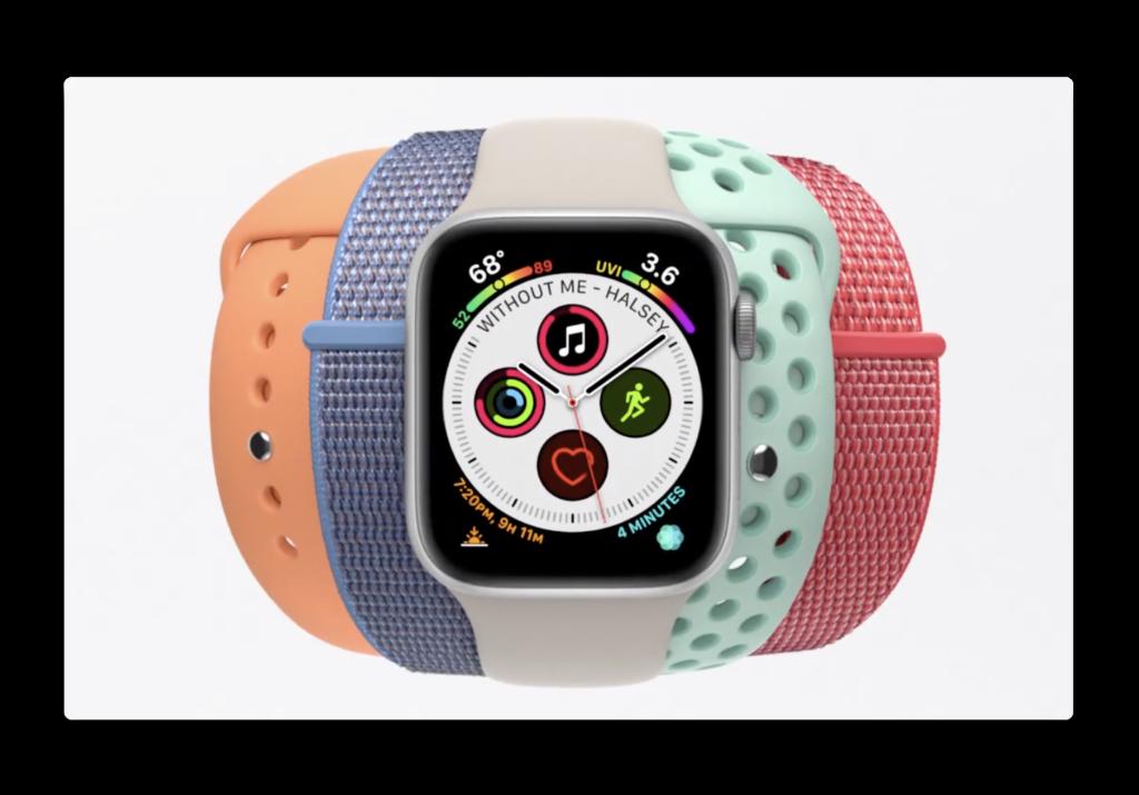 Apple Japan、Apple Watch Series 4のバンドにフォーカスしたCF2本を公開