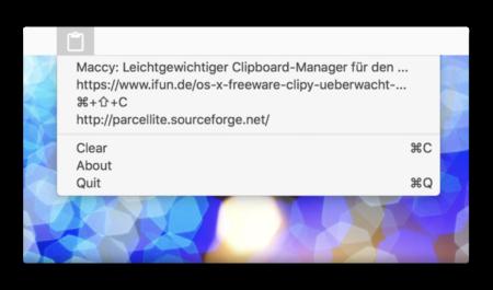 【Mac】無料のクリップボードマネージャー「Maccy」