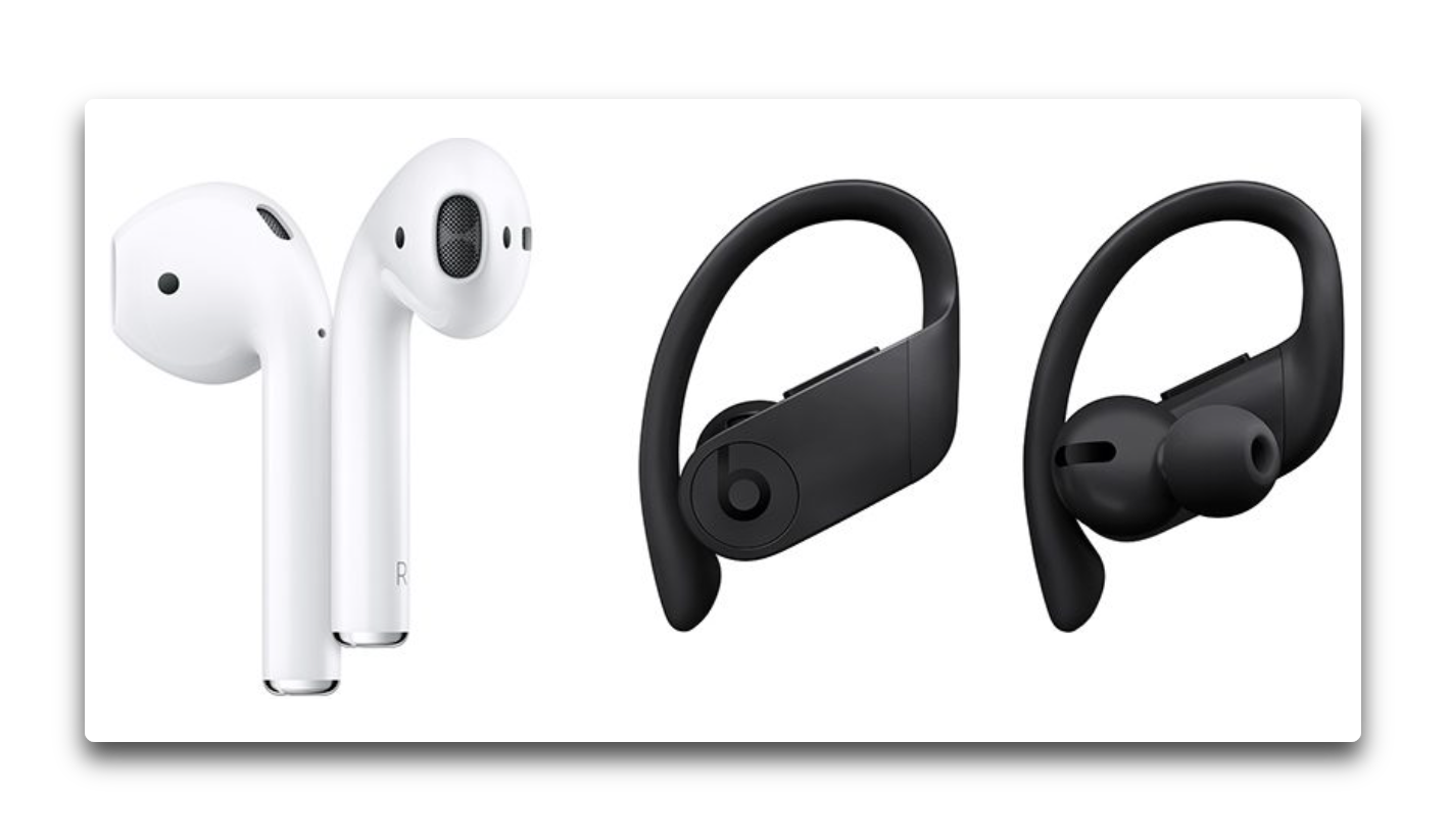 Beats Powerbeats Pro  と Apple AirPods 2を 10項目で比較