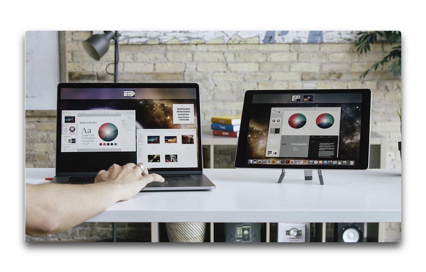 macOS 10.15では、ユーザーはiPadを外部ディスプレイとして使用できる