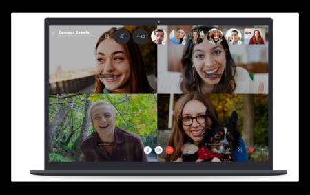Skypeはグループ通話を50人に倍増しAppleのFaceTimeの32人を追い越しました