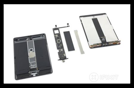 最新のiPad Air、内部構造はiPad Pro 10.5インチを似ているが、ProMotion Display Techに欠けている