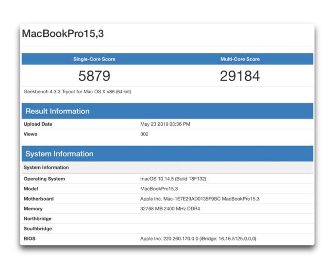 8core MacBook Pro 2019 00001