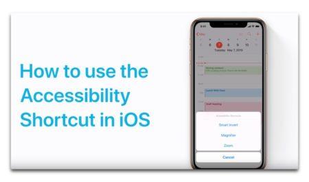 Apple Support、「iOS用のアクセシビリティショートカットを設定する方法」のハウツービデオを公開