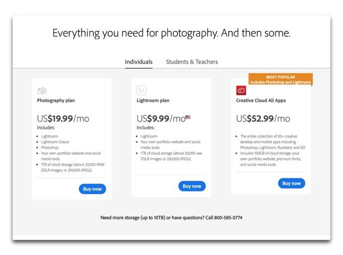 Adobe Photo Plan 00001 z