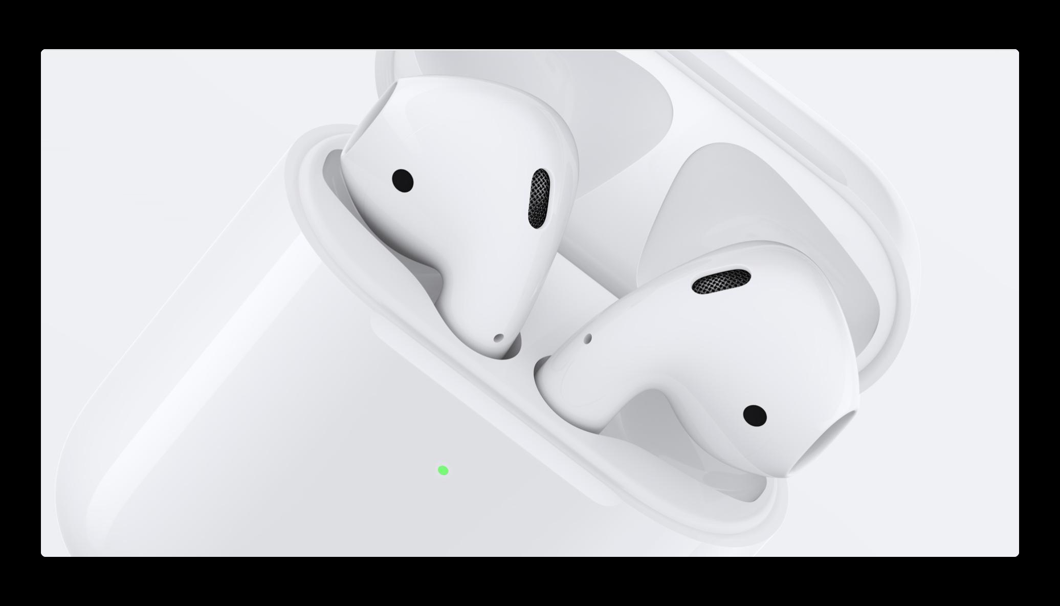 Apple、AirPods 2とケースの充電状況の分析