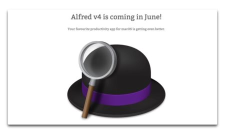 【Mac】ランチャーアプリ「Alfred」、バージョン4を6月にリリース予定
