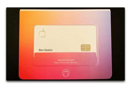 Appleの一部の従業員が既にApple Cardを受け取っている