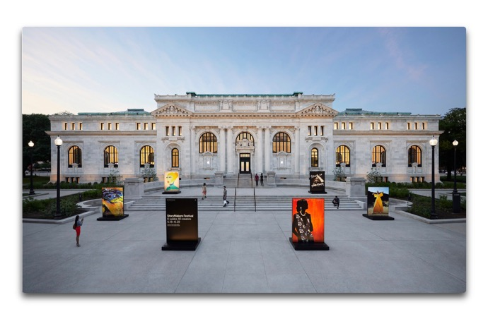 ワシントン D.C. のApple Carnegie Library が土曜日にオープン