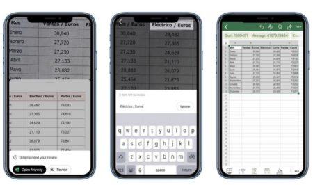 【iOS】Excelでテーブルデータの写真スプレッドシートに変換する機能を提供開始
