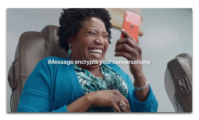 Apple、メッセージの暗号化に焦点を当てた新しいCF「Inside Joke」を公開