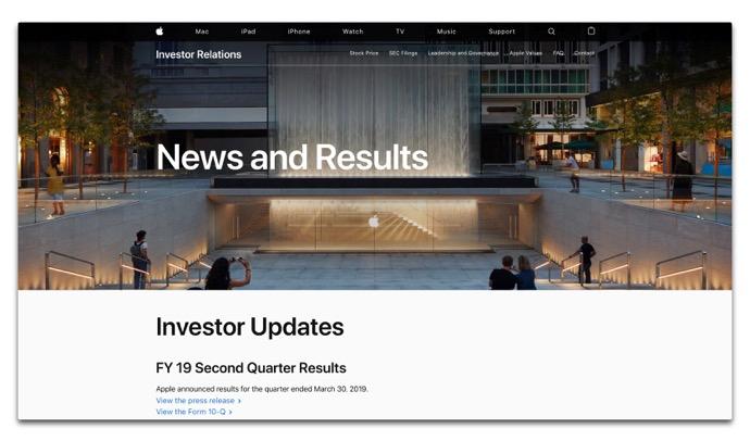 Investor Relations webpage 00001 z