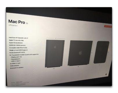 モジュラーMac Pro、初のレンダリング画像がリークされる