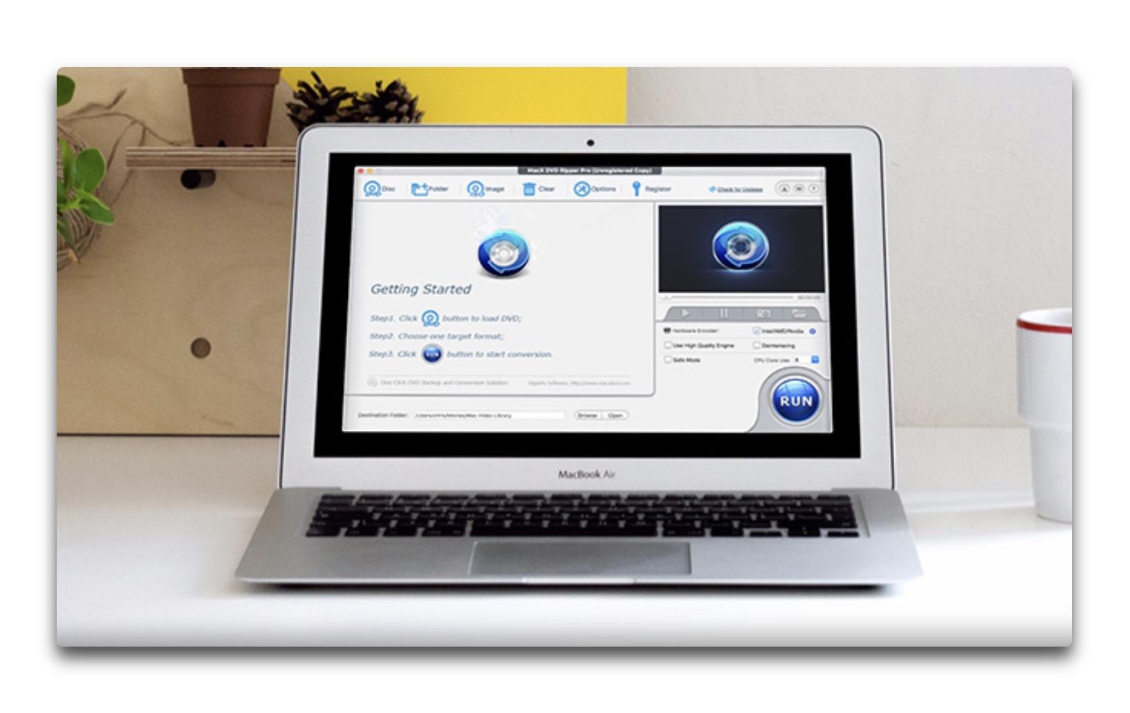 「MacX DVD Ripper Pro for Mac」が、期間限定で無料