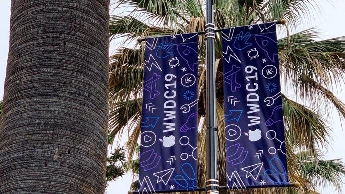 Apple、McEneryコンベンションセンターでWWDC 2019の準備が始まる