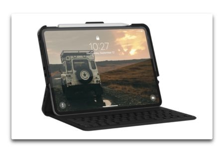 URBAN ARMOR GEAR、Smart Keyboard Folioと連携するiPad Pro用ケースSCOUT SERIESを発表