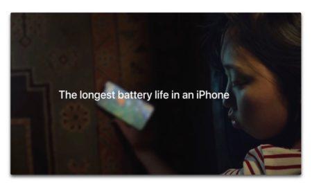 Apple、iPhone XRのバッテリ寿命をアピールする新しいCF「 Up Late」を公開