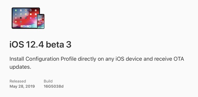 IOS 12 4 beta 3 00001