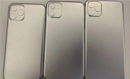 金型のリークは2019年のiPhone 3モデル共にカメラ部分が正方形の隆起になっている