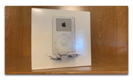 第1世代の未開封 iPodがeBayで19,995ドルで販売される