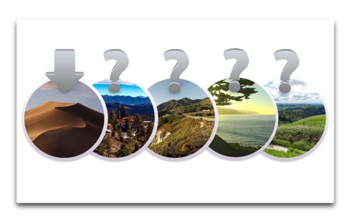 macOS 10.15の名称は、Mammoth、 Monterey、Rincon、Skylineそれとも他?