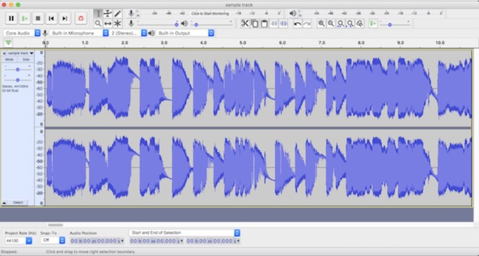 Audio Editor 00001 z