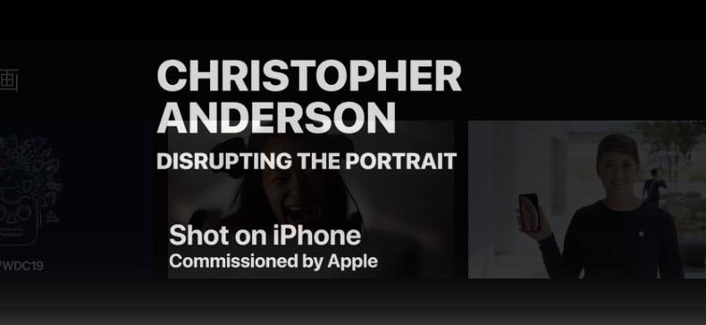 Apple、Christopher Andersonによる「Shot on iPhone」の新しいCFを公開